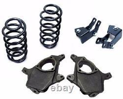 2/4 Drop Suspension Lowering Kit Fits 2000-06 Chevy Tahoe GMC Yukon Spindles