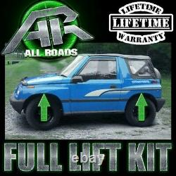 2 Front + Rear Full Lift Kit Fits 1999-2005 Geo Tracker Chevy Tracker 2WD 4WD