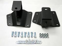 2 Rear Axle Drop Hangers Lowering Kit Fits 1999-06 Chevy GMC 1500 Pickup Truck
