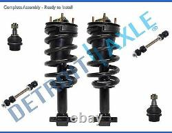 2007-2014 Chevy Suburban 1500 Front Strut Lower Ball Joint Sway Bar End Link Kit