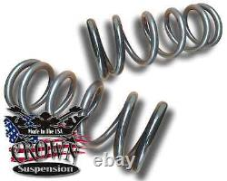 3 Front Lowering Coil Springs Drop Kit Fits 1999-2007 Chevrolet Silverado 1500
