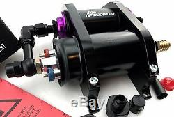 300LPH EXTERNAL FUEL PUMP with BRACKET KIT & FILTER AN8 fits BOSCH 044 0580254044
