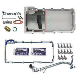 302-1 LS Swap Retrofit Oil Pan Kit For 1955-1987 GM LS1 LS6 LS2 LS3 Engines