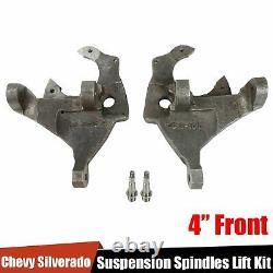 4 Suspension Spindles Lift Fit 1988-1998 Chevy Silverado GMC Sierra C1500 C2500