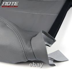 4PCS Leather Seat Cover Kit Fit For03-06 Chevy Tahoe Suburban Silverado/GMC