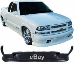 98-04 Extreme Style PU Front Bumper Lip Spoiler Fits Chevy S10/GMC S15 Sonoma
