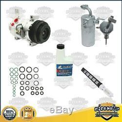AC Compressor Kit Fits Escalate Tahoe Silverado Avalanche Yukon OEM 10S17F 77377