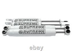 Adj. 1 2 3 Front 1 Rear Level Lift Kit Fits 99-07 Chevy Silverado Shocks 4x4