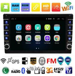 Android 8.1 Touch Screen Stereo Radio MP5 Player Kit GPS/Wifi/FM/USB Fit For Car