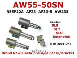 Aw 55-50sn 55-51sn Af33 Linear Solenoid Kit Rostra Saab Equinox Maxima (99404)