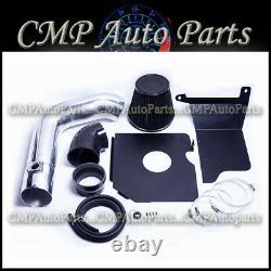 Black Cold Air Intake Kit Fit 2004 2005 Gmc Sierra 3500 6.6 6.6l V8 Duramax Lly