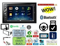 Cd Dvd AUX TOUCHSCREEN Bluetooth Radio Stereo Kit FITS CHEVY-GMC TRUCK-VAN-SUV