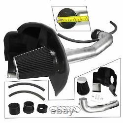Cold Air Intake Kit+Heat Shield fit 2014-2019 Chevrolet GMC Cadillac 5.3L 6.2L