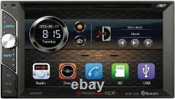 FITS GM CAR-TRUCK-VAN-SUV Cd/Dvd Bluetooth Radio Stereo Double Din Dash Kit USB