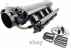 FITS L92 L99 LS3 LSA 6.2 Performance Aluminum Intake Manifold Kit + Fuel Rails