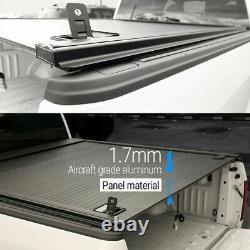 Fit 2014 2020 Colorado 5ft Aluminum Retractable Waterproof Hard Tonneau Cover