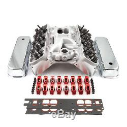 Fit Chevy BBC 396 Hyd FT Cylinder Head Top End Engine Combo Kit