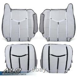 Fit for 2003-2007 GMC Sierra Yukon Driver & Passenger Leather Seat Cover Kit