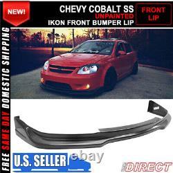 Fits 05-10 Chevy Cobalt & 17-10 Pontiac G5 IKON Front Bumper Lip Splitter PU
