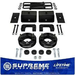 Fits 07-18 Chevy Silverado 1500 Blk 3.5 + 3 Complete Lift Kit with Diff Drop PRO