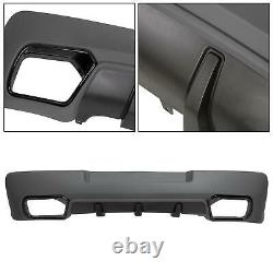 Fits 14-15 Chevrolet Camaro Z28 Spring Edition Rear Lower Bumper Cover Diffuser