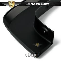 Fits 14-18 Silverado 1500 2500HD 3500HD OE Style PP Black Trunk Fender Flares