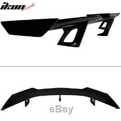 Fits 16-20 Chevy Camaro 2-Door ZL1 1LE Glossy Black Trunk Spoiler Wing ABS
