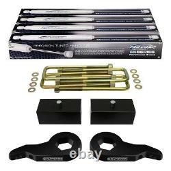 Fits 1988-1998 Chevy K1500 GMC K1500 4wd 3 Inch + 2 Inch Lift Kit + Shocks