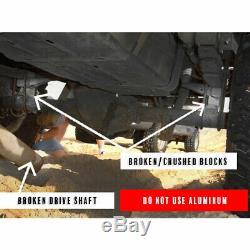 Fits 2001-2010 Chevy Silverado GMC Sierra 2500HD 3 + 2 Leveling Lift Kit 2500