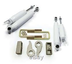 Fits 99-07 Chevy Silverado GMC Sierra 1500 4X4 6-lug Full Lift Kit 3 F 3 R