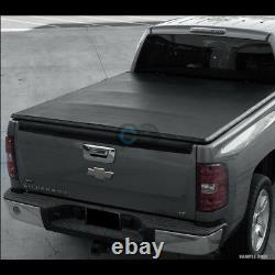 Fits 99-07 Chevy Silverado/GMC Sierra Stepside 6.5 Ft Bed Snap-On Tonneau Cover
