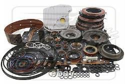 Fits Chevy 4L60E 4L65E Transmission PowerPack Performance DLX Rebuild Kit 04-On