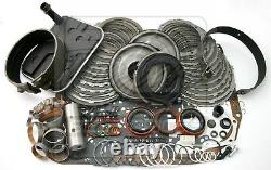 Fits Chevy 4L80E Overdrive Transmission Deluxe Rebuild Kit 1997-Up