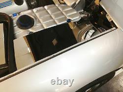 Fits Corvette C5 1997-2004 Stainless INNER FENDER COVERS 2 Pc Kit engine chrome