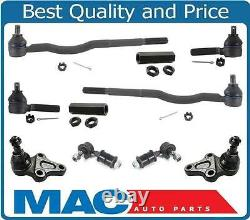 Fits For 89-98 Tracker Inner Outer Tie Rods Ball Joints Sway Bar Links 10Pc Kit