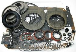 Fits GM Chevy 4L80E 4L80-E Transmission Overhaul Rebuild Less Steel Kit 1997-Up