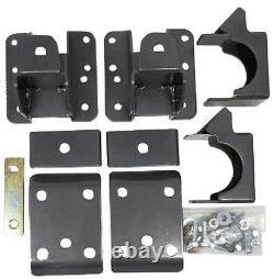 Flip Kit Rear Axle Lowering 5 6 Drop Fits 2007-18 Chevy Silverado 1500 Truck