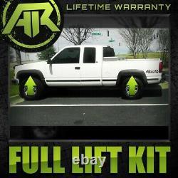 For 88-99 Chevy GMC K2500 K3500 4WD Full 3 Steel Keys Blocks Lift Kit Extenders