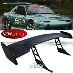 For FR-S JDM 57 GT Style Down Force Trunk Spoiler Wing Matte Black