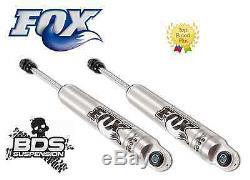 Fox 2.0 Performance Rear Shocks Set fits 6 Lift Kits for 2007-2018 GMC 1500 BDS