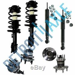 Front Strut and Rear Shock Wheel Hub Kit Chevy Malibu Pontiac G6 Saturn Aura