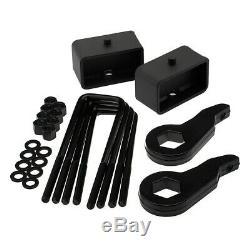 Full 3 + 3 Steel Suspension Lift Kit Fits 99-07 Silverado Sierra 1500 Z71 4X4