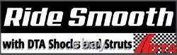 Full Set 2 Complete Front Struts 2 Rear Shocks Fit Cobalt HHR Lifetime Warranty