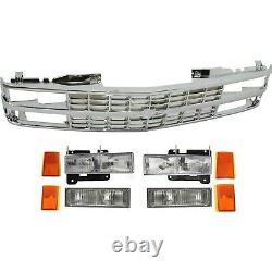 Headlight Kit For 1992-1993 Chevrolet Blazer Front Fits Composite Headlights