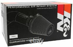 K&N AirCharger Cold Air Intake System fits 2010-2015 Chevy Camaro SS 6.2L V8