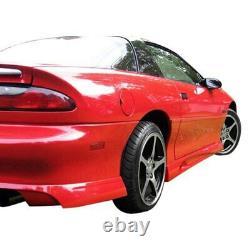 KBD Body Kits Type J Style Polyurethane Side Skirts Fits Chevrolet Camaro 93-02