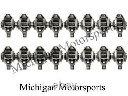 LS1 Rocker Arms with Upgraded Trunion Kit Installed fits 4.8 5.3 5.7 6.0 LS2 LS6