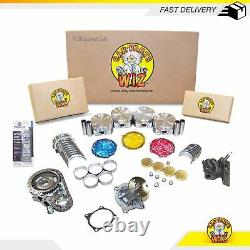 Master Engine Rebuild Kit Fits 98-03 Chevrolet GMC Isuzu 2.2L OHV Cu. 134 VORTEC