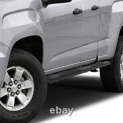 OEDRO Side Steps SHIELD Kit Fit for 2015-2021 Chevy Colorado/GMC Canyon Crew Cab