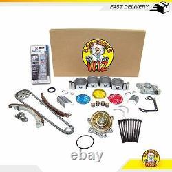 Overhaul Engine Rebuild Kit Fits 00-08 Toyota Chevrolet Pontiac 1.8L DOHC 1ZZFE